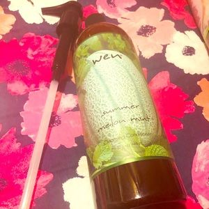 WEN Summer Melon Mint Cleansing conditioner!
